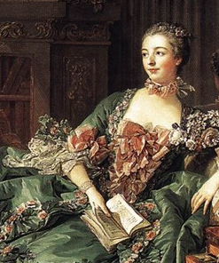Madame de Pompadour, by Boucher
